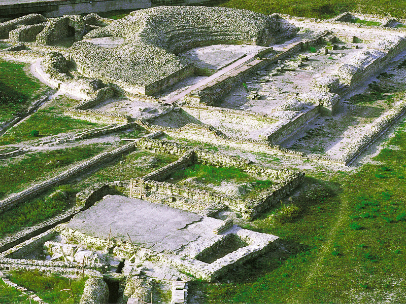 Montegrotto archaelogical excavations