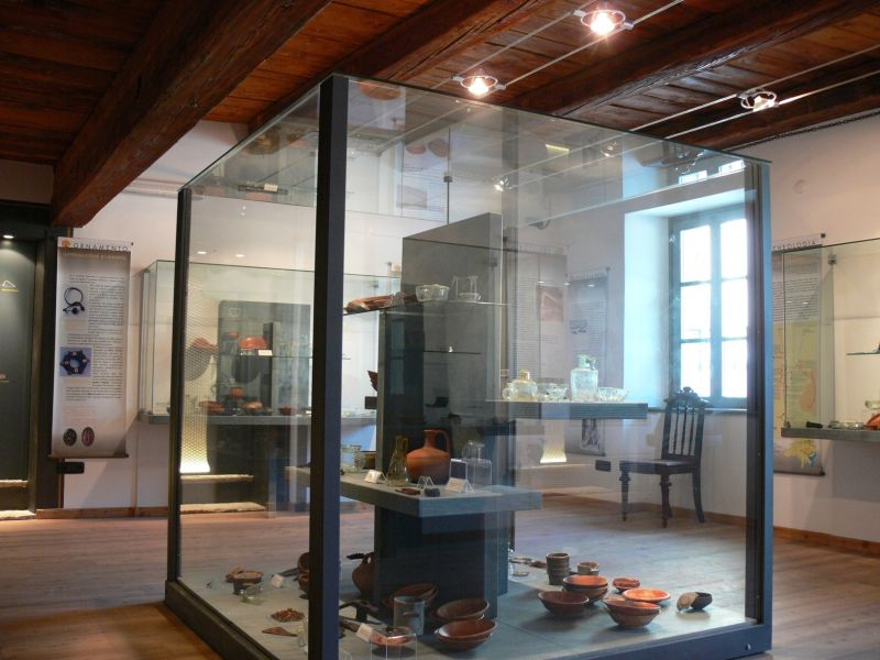 Soapstone Archaeological Museum in Malesco
